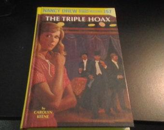 Nancy Drew Mystery, The Triple Hoax, copyright 1979