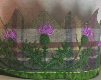 Thistle Crown - Waldorf Crown - Scottish Crown