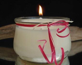 frangipani fragrance jar candle