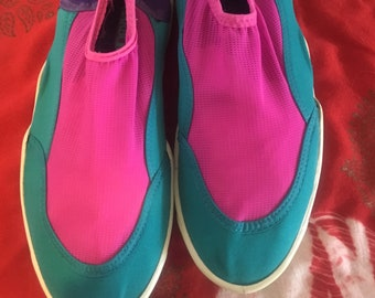 80s pool side shoes