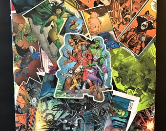 Custom Comic Collage Art on Canvas - Guardians of the Galaxy