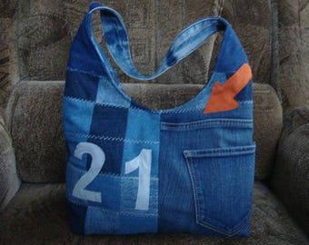 "Cross Body or Shoulder Bag ""21"""