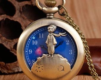 Bronze Little Prince Pocket Watch