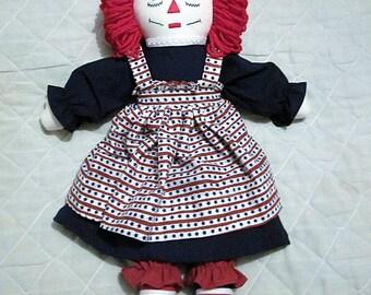 20 Inch American Raggedy Ann Doll