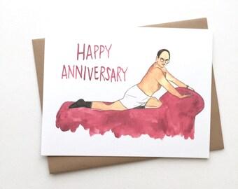 Seinfeld Anniversary // George Costanza Card