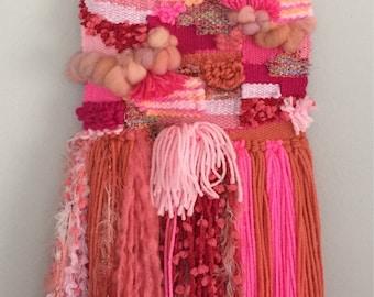 Pink Mermaid Weaving