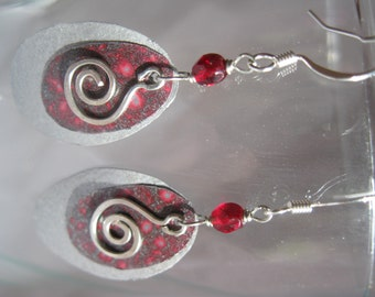 Upcycled Aluminum Can Earrings