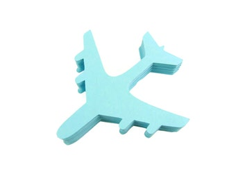 Airplane Paper Cut Outs set of 25