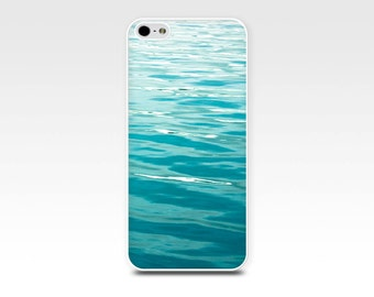 ocean iphone case 5s iphone 6 water iphone case 4 4s art waves beach iphone case nautical iphone 4 case 5 teal iphone case abstract blue