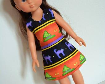 "Handmade Doll Clothes Dress fits 13"" Corolle Les Cheries Dolls Handcraft Q2"