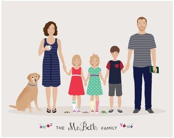 Custom Family Portrait