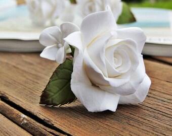 Forcine per i capelli con le rose, Forcine decorative, Forcine con rose, Accessorio per capelli, Accessori per sposa, Forcine fatte a mano