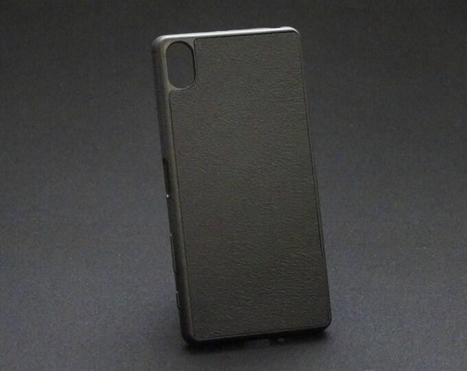 Sony XZ XZs - Jimmy Case in Black - Kangaroo leather - Handmade - James Watson