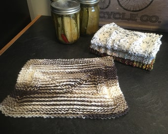 Dishcloths Knit in Canada
