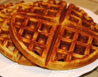 Waffles, Gluten free, Dairy Free, Grain Free