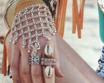 Feature in Disfunkshion Magazine Cowrie & Quartz Wire Wrap Statement Ring