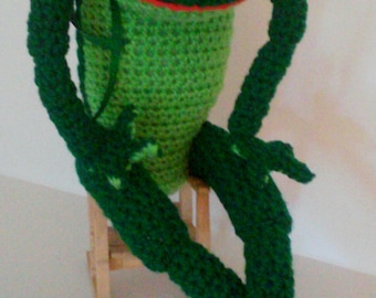 Crocheted Frog, Frog, Green Frog, Stuffed Frog, Stuffed Animal, Aquatic, Plushie, Crocheted Toy, Handmade Frog, Soft Toy, Child Toy