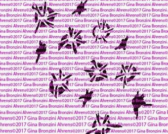 G.Ahrens Design Stencils!!!  Berry Hearts