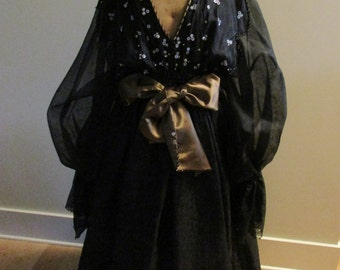 Vintage ZANDRA RHODES Designer Dress