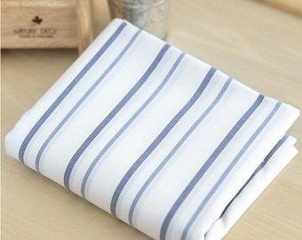 Yarn Dyed Stripe Cotton Fabric - By the Yard 48610