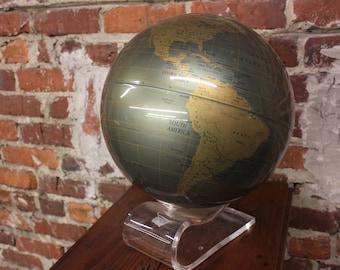 Vintage 1970's Globe By Replogle