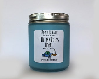 The March's Home Soy Candle - 8 oz