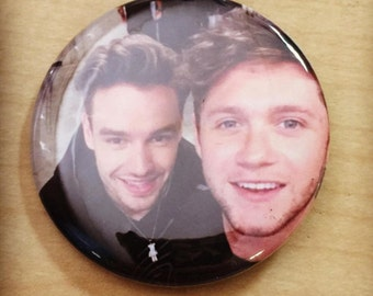 Liam and Niall Pinback Button-NEW 2017