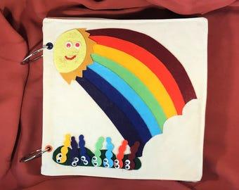 Quiet Book Pages - Quiet Book - Felt Quiet Book - Quiet Book Toddler - Busy Book - Activity Book - First Book - Toddler Activities