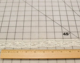 Vintage Lace, Narrow, Off White, 3 Yards