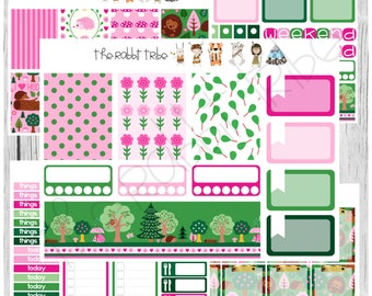 Freestyle Planning - I Love Hedgehogs Kit - planner stickers