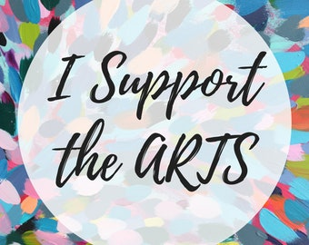 Magnet: I Support the Arts