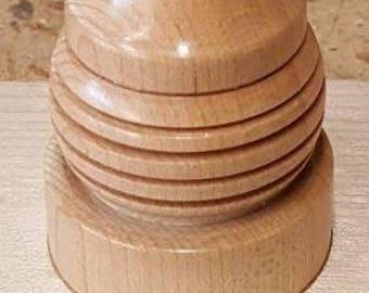 Custom Hand Made CARVED Wood Piece