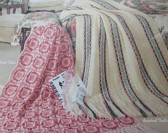 Pastel Afghans Crochet Pattern Book