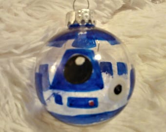 R2D2 Star Wars Hand Made Christmas Ball