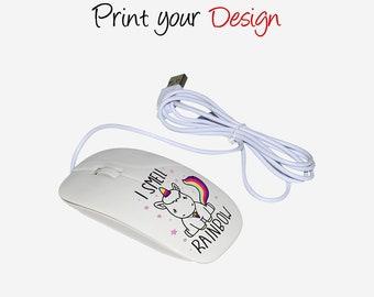 3D sublimatie Wireless Mouse, muis gepersonaliseerde, 3D muis DIY afdrukken cadeaus M3DKG
