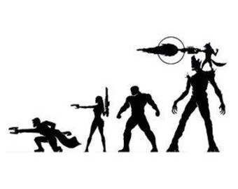 Guardians of the galaxy !!! -Vinyl Decal - Multiple colors and sizes