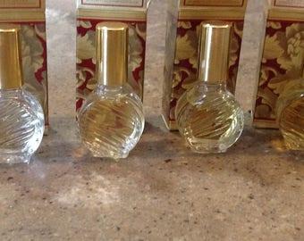 Vintage Avon Ariane Foxfire Odyssey Timeless Candid Tasha .33 Fl Oz Cologne Fragrance Original Box Set of 6