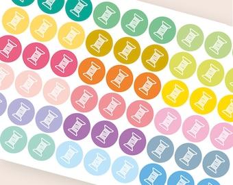 54 sewing sticker, functional stickers, hobby stickers, planner sticker, ewing machine stickers eclp filofax happy planner kikkik