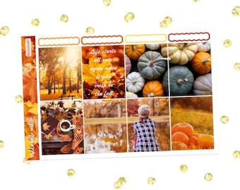 Blissful Fall[MINI] weekly planner sticker kit