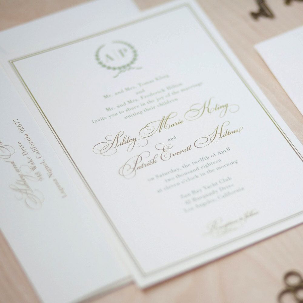 wedding invitations with initials uk - Picture Ideas References