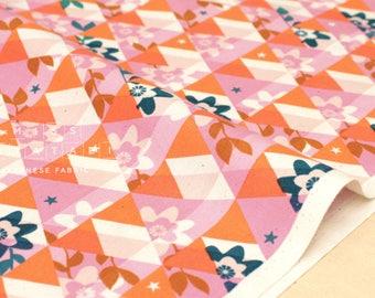 Cotton + Steel Flutter - kaleidoscope - orange - 50cm