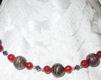 Ruby Royalty Necklace   Item #1004