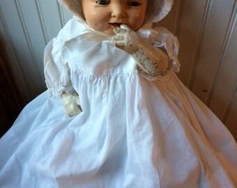 Effanbee composite doll vintage doll broken doll