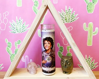 Maxine Waters // Politician // Pop Culture Prayer Candle
