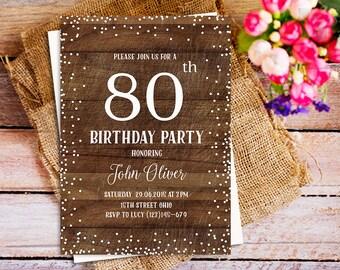 Rustic 21st birthday invitations pink floral rustic wood 21st birthday invitation wood birthday invitation rustic 80th birthday invitation string lights birthday stopboris Gallery