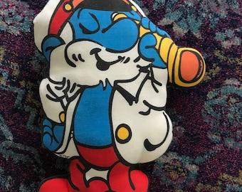 Vintage Papa Smurf throw pillow