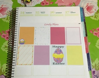 Planner Stickers: Easter full boxes
