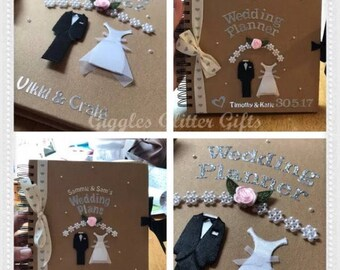Personalised and handmade Wedding planner bride to be engagement gift