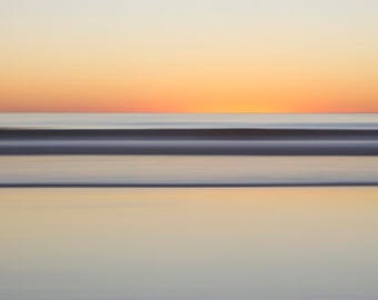 End, Sunset, Abstract Photography, Seascape, Beach Art, Limited Edition Print, Fine Art Photography, Fine Art Print, Nature Photography