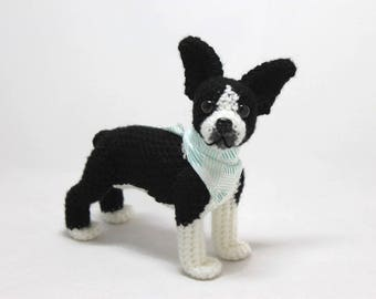 Boston Terrier Doll